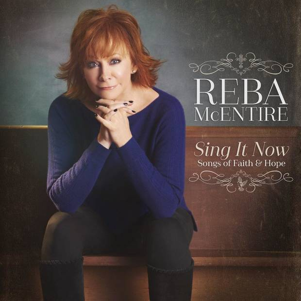 "Reba McEntire's new album ""Sing It Now: Songs of Faith & Hope"" has debuted at No. 1 across both Billboard Country and Christian/Gospel charts. Album cover art provided"