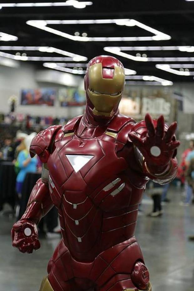 An Iron Man costume at a Wizard World show. Ûphoto provided by Wizard WorldÝ