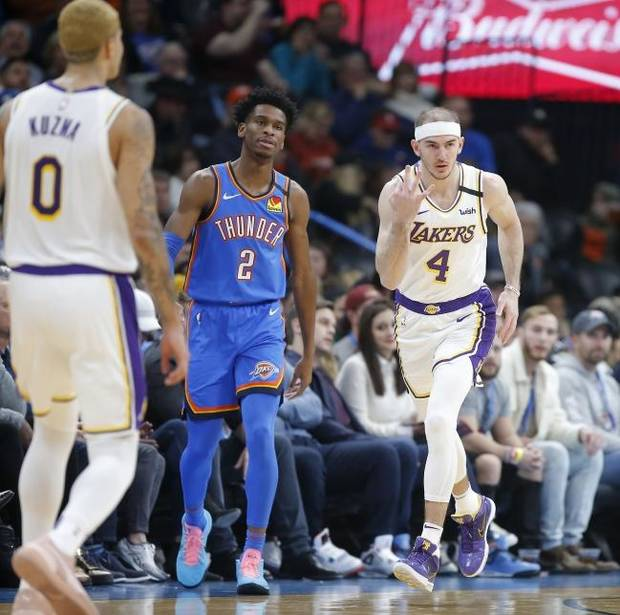 Former Blue guard Alex Caruso has become a cult hero in Los Angeles