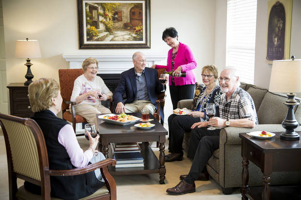 Residents at Concordia are gathering for an evening of fun. Photo provided.