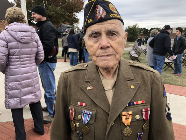 100th anniversary of end of World War I remembered Sunday at Oklahoma City Veterans Day ceremony | The Oklahoman
