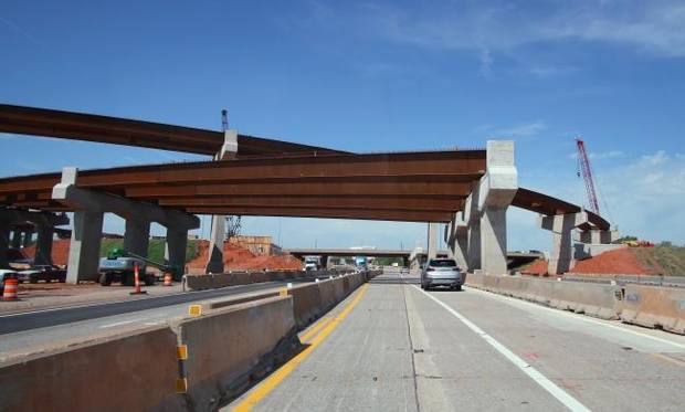I-235 closure planned for this weekend