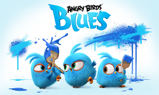 "Art from ""Angry Birds Blues."""