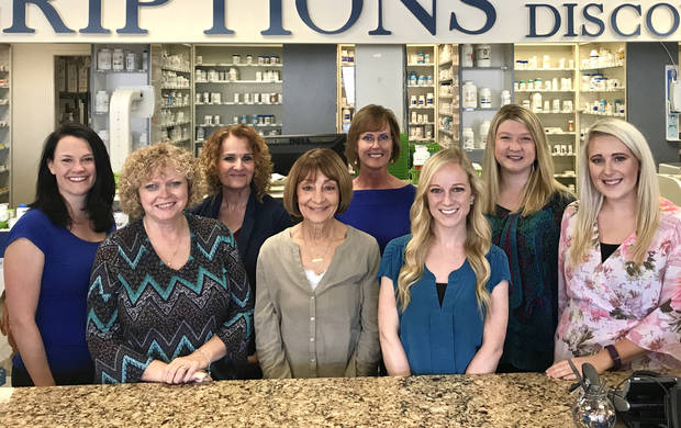 The Hospital Discount Pharmacy team. Photo provided.