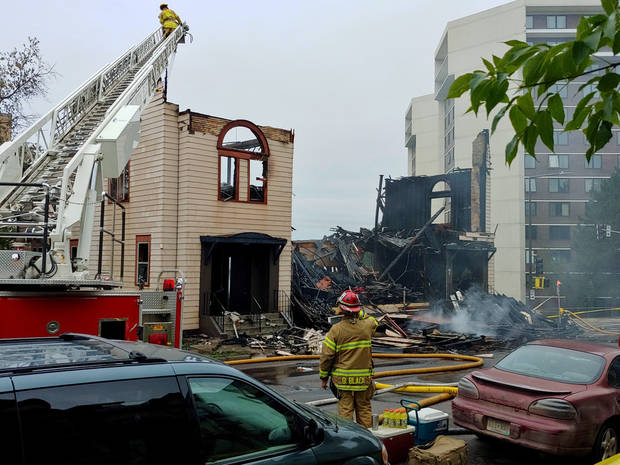 No accelerant signs at synagogue fire in Minnesota city