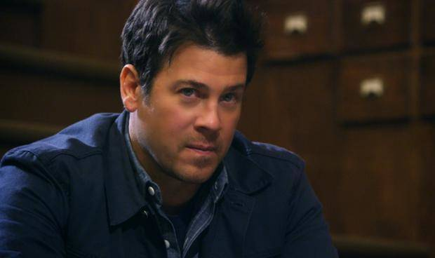 "Christian Kane in ""The Librarians."" TNT photo"