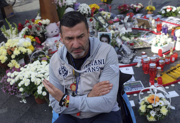 Police free Bosnian Serb who led protests over son's death