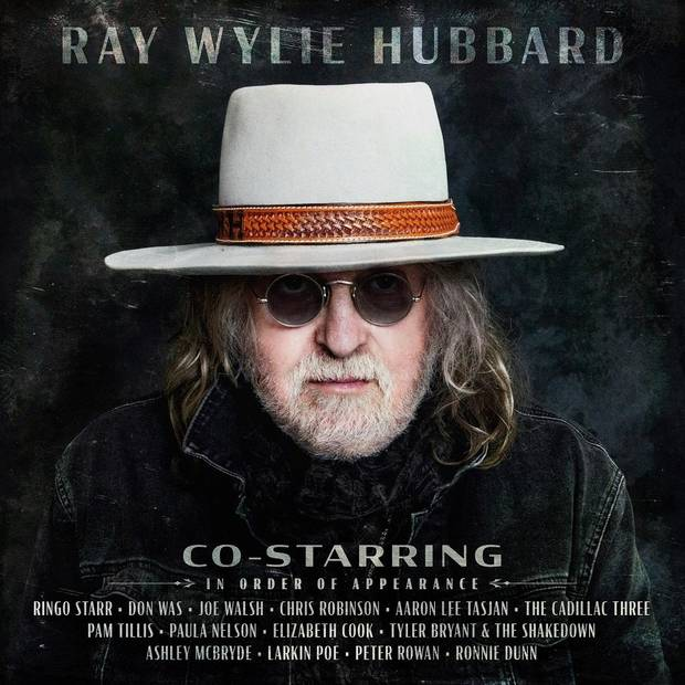 "Ray Wylie Hubbard is releasing his new album ""Co-Starring"" Friday on Big Machine Records. [Cover art provided]"