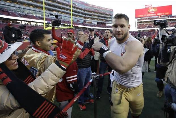 NFL playoffs: Rookie Nick Bosa makes big impact on improved 49ers defense