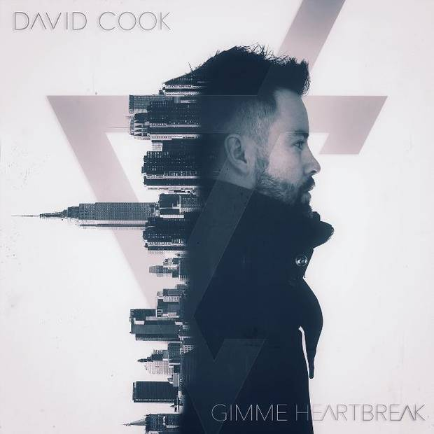 Former Tulsan and 'American Idol' winner David Cook has released his new single 'Gimme Heartbreak.' Cover art provided