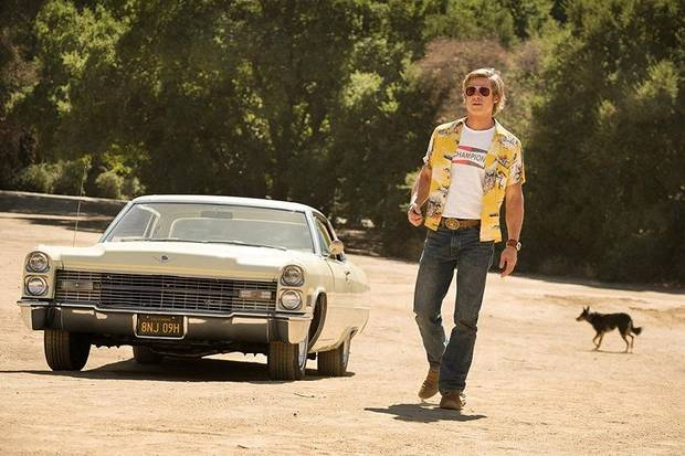 "Brad Pitt stars in ""Once Upon a Time ... in Hollywood."" [Sony Pictures photo]"