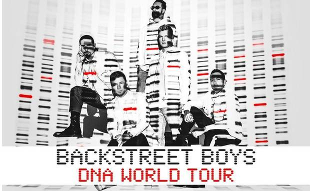"Backstreet Boys will bring their ""DNA World Tour"" to Oklahoma City for a summer show at Chesapeake Energy Arena. [Poster image provided]"