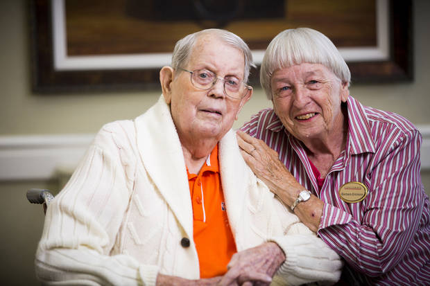 John and Barbara Erickson have been married for 70 years. Photo provided by Concordia.