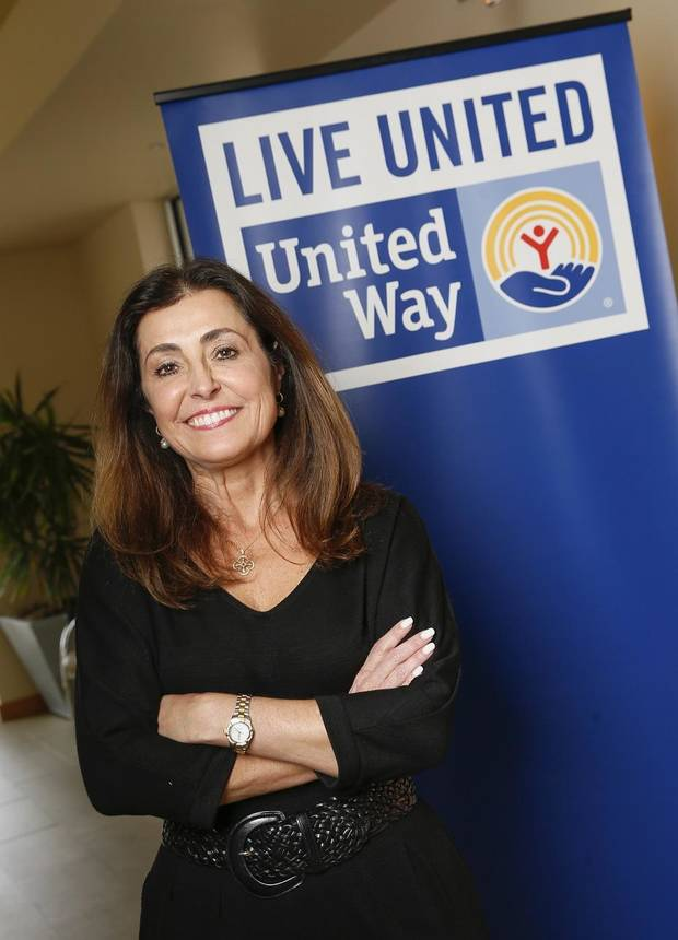 United Way of Central Oklahoma's Debby Hampton follows the Oklahoma standard