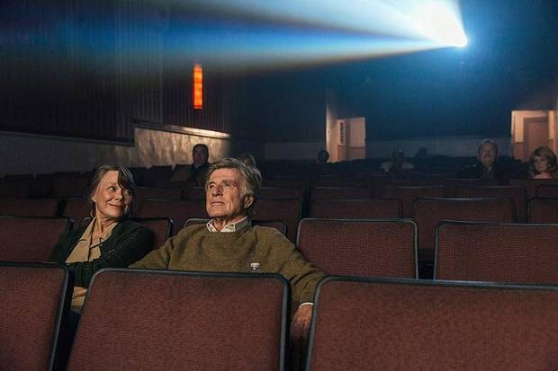 """Sissy Spacek and Robert Redford star in """"The Old Man & the Gun."""" [Fox Searchlight photo]"""