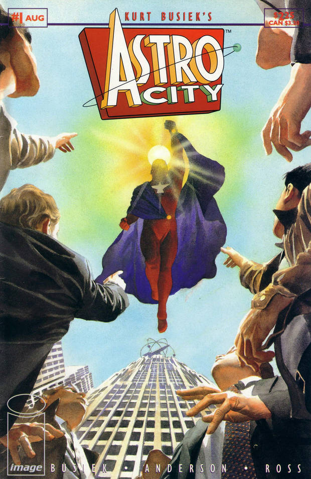 Ross' cover to Astro City #1