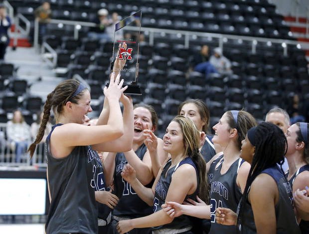 Edmond North claims girls crown at Mustang tournament