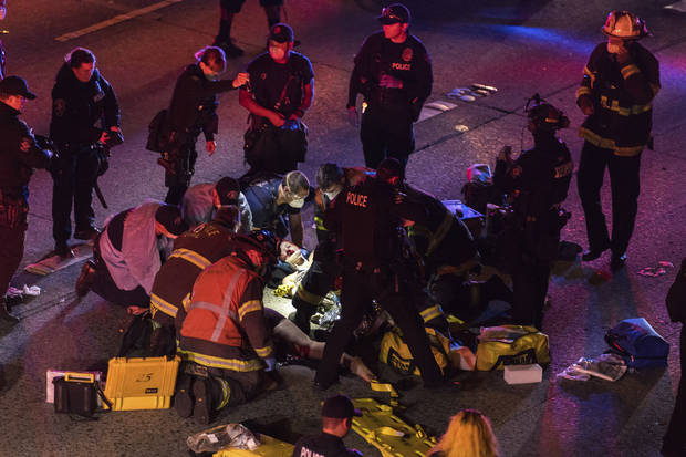 Woman dies after she was hit by car on highway amid protest