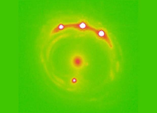 Planets visible beyond the Milky Way using microlensing. (University of Oklahoma)