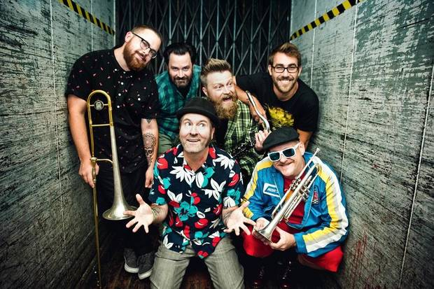 Reel Big Fish [Photo by Jodie Cunningham]