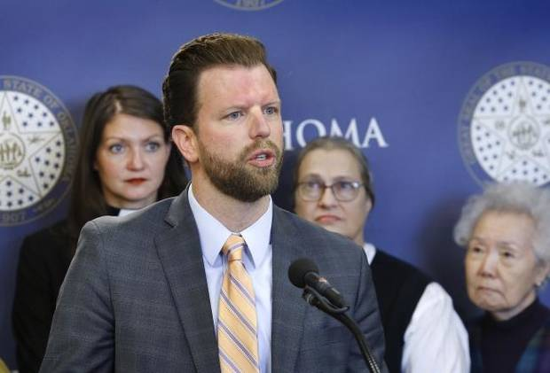 Oklahoma legislator takes aim at death penalty