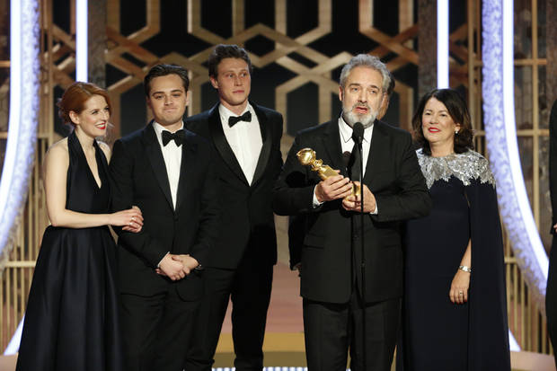 '1917,' 'Once Upon a Time ...in Hollywood' win Golden Globes