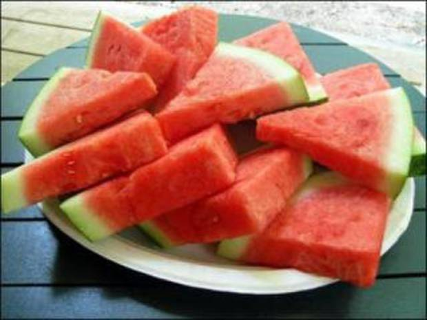Sliced watermelon. Photo Provided