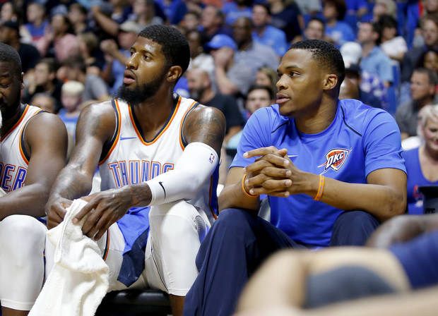 Thunder Fall to Rockets in Preseason Opener