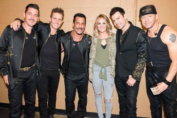 Carrie Underwood Makes Surprise Performance at New Kids on the Block Concert