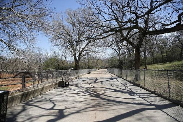 Closed to the public due to the coronavirus pandemic, the Oklahoma City Zoo and Botanical Garden is pictured in Oklahoma City, Okla., Thursday, March 26, 2020. [Sarah Phipps/The Oklahoman]