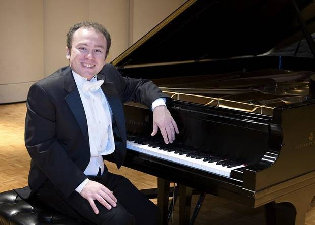 Sergio Monteiro, the director of piano activities at the Wanda Bass School of Music at Oklahoma City University, will make his debut Sept. 15 on Virginia Campbell's 37th Annual Piano Artist Series alongside his wife Lauren Monteiro, a freelance flutist, teacher and music critic as well as a faculty member at Murray State College and Oklahoma City Community. [Photo provided]