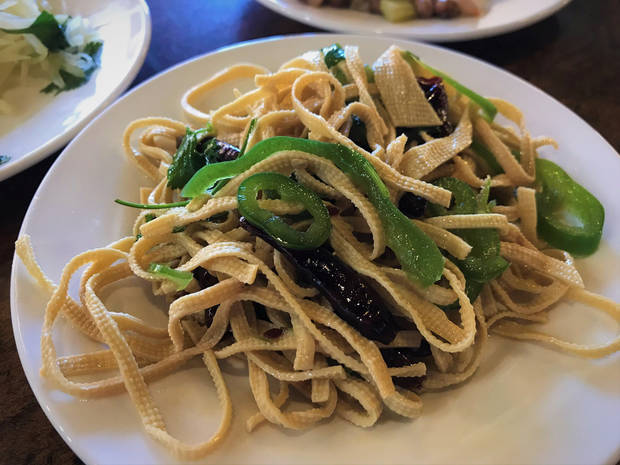 Marinated tofu noodles from Northern Noodle House in Oklahoma City. [Dave Cathey/The Oklahoman]