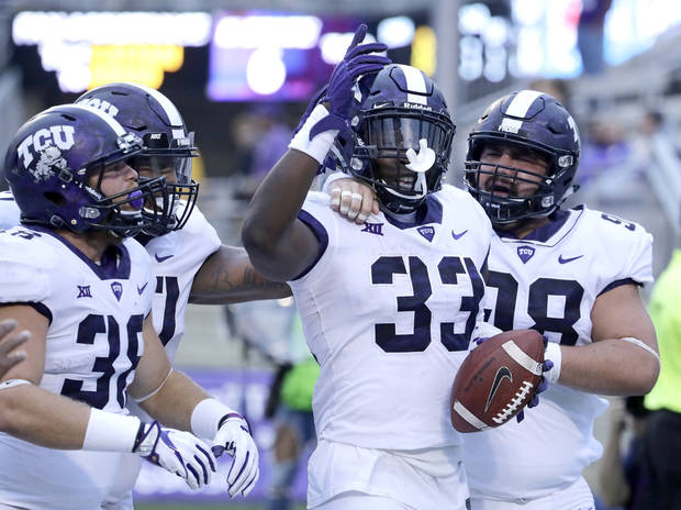 No. 6 TCU swamps Kansas State in storm-interrupted game