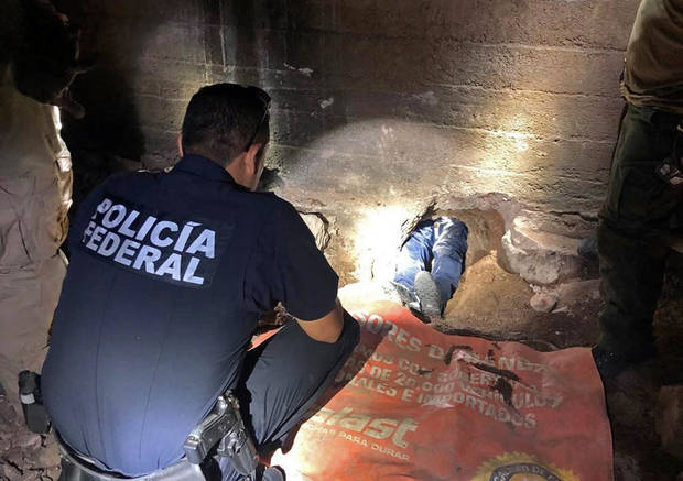 Agency: Incomplete cross-border tunnel discovered in Nogales