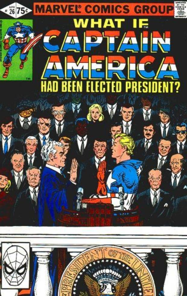 What if Captain America became president? Comic Collection Monday #43: What If Vol. 1 #26