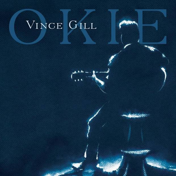 "Country Music Hall of Famer Vince Gill, who was born in Norman and raised in Oklahoma City, announced today that his new album, titled ""Okie,"" will be released Aug. 23. [Album cover art]"
