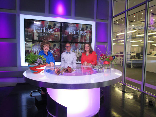 Justin Edwards And Kara Robinson From Trochtau0027s Flowers And Garden Center  Talk About Summer Flowers, Flower Arrangements And Weddings On Parties  Extra!