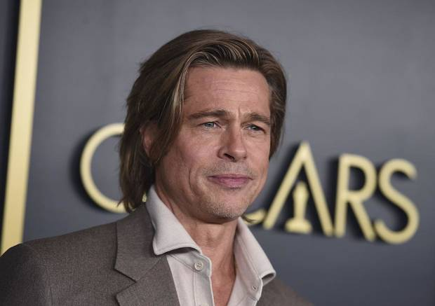 Brad Pitt arrives at the 92nd Academy Awards Nominees Luncheon at the Loews Hotel on Monday, Jan. 27, 2020, in Los Angeles. [Photo by Jordan Strauss/Invision/AP]