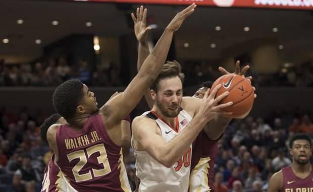 College Basketball Roundup: Virginia upsets No. 5 Florida State