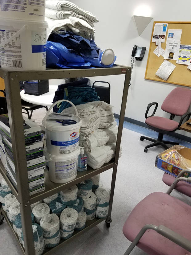 Police arrest hospital aide in thefts of equipment, supplies