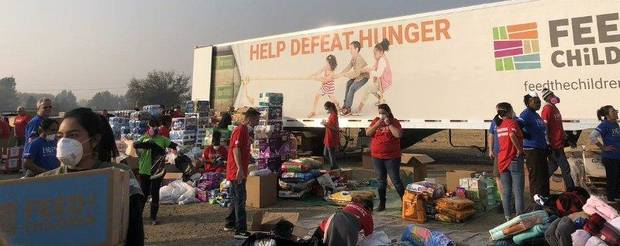 Feed the Children provides disaster relief across the country. (Photo provided by Feed the Children)