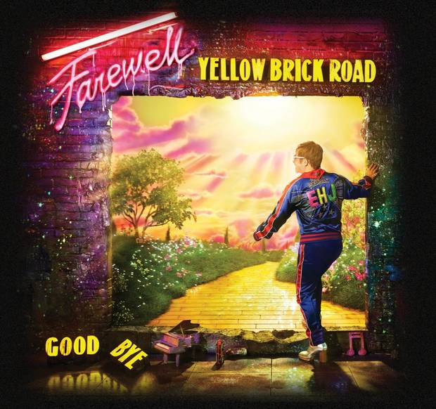 "Elton John announces today his return to the stage in North America with the newly rescheduled dates for his global ""Farewell Yellow Brick Road Tour."" [Poster image provided]"