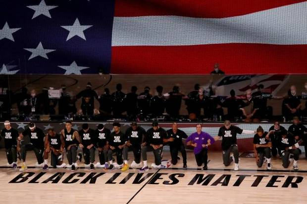 Carlson: NBA players kneeling on day John Lewis was laid to rest a powerful reminder of fight for racial justice