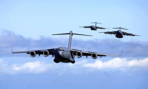 Air Force to fly over OKC hospitals May 1