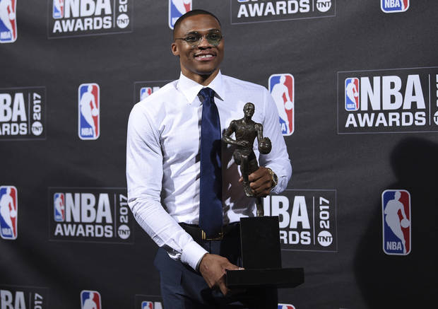 Russell Westbrook's MVP Acceptance Speech Is Emotional & Awesome