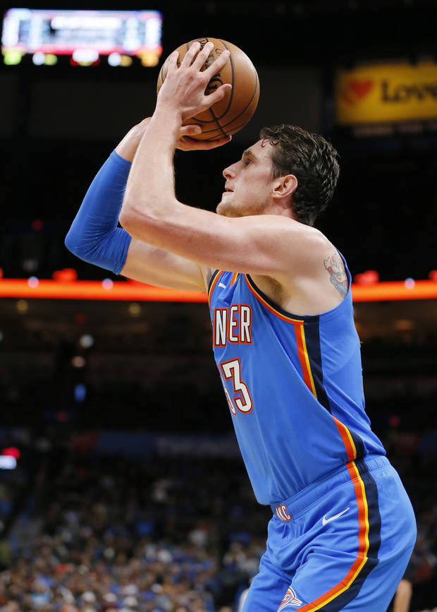 Thunder: Mike Muscala has become an option at power forward