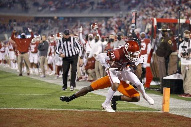 Carlson: OU football report card has high marks for Ronnie Perkins, offensive variations in Bedlam rout