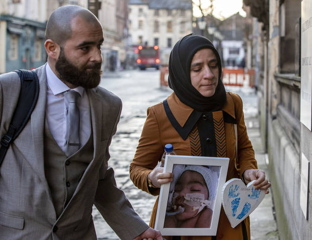 UK parents lose court appeal to keep baby on life support