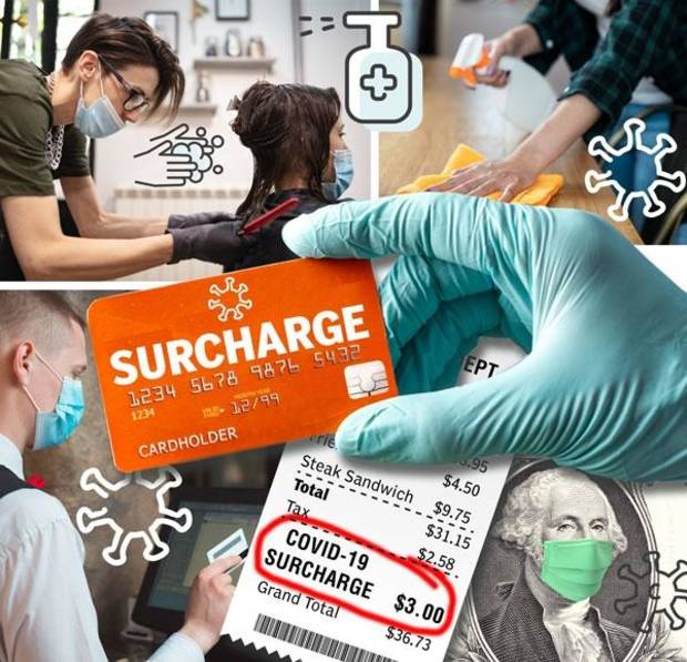 Coronavirus in Oklahoma: COVID-19 surcharges anger some patrons