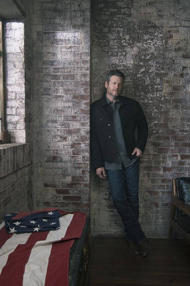 Blake Shelton [Photo by Andrew Accles]